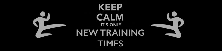 Training Time Changes