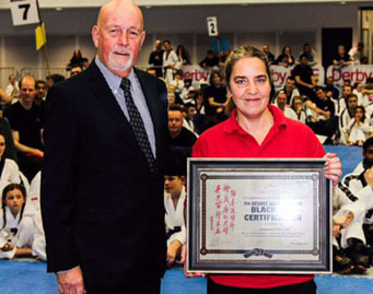 Tae Kwon Do instructor becomes first female 7th Dan
